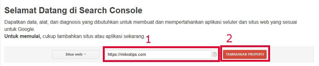 URL webmaster