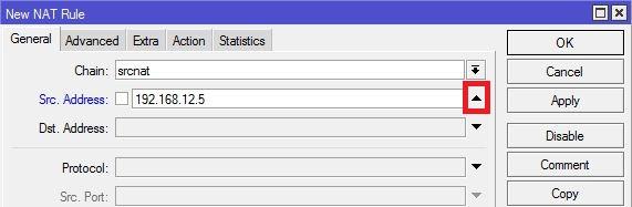 winbox parameter